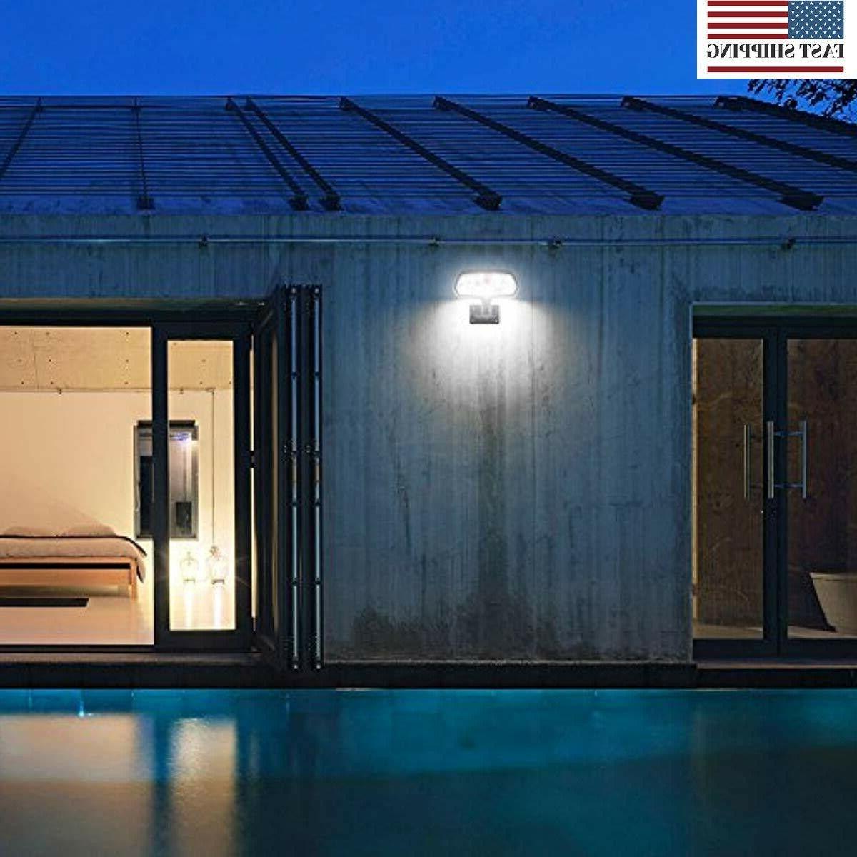 16 LED Solar Outdoor Sensor