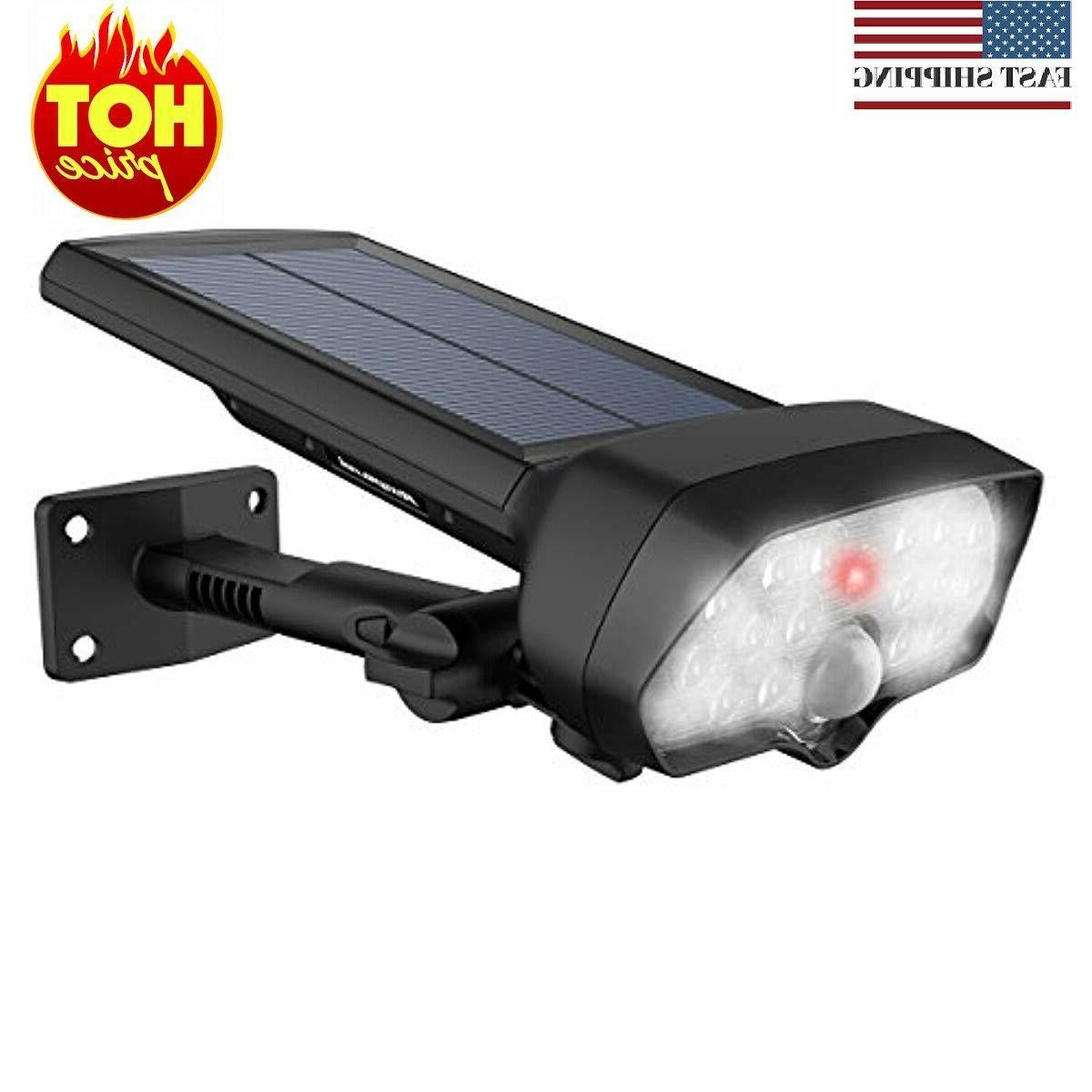 16 led solar lights outdoor landscape spotlights