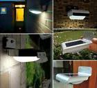 16 LED Solar Outdoor Light Panel Powered Motion Sensor Led L