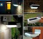16 LED Solar Outdoor Light Panel Powered Motion Sensor Led L