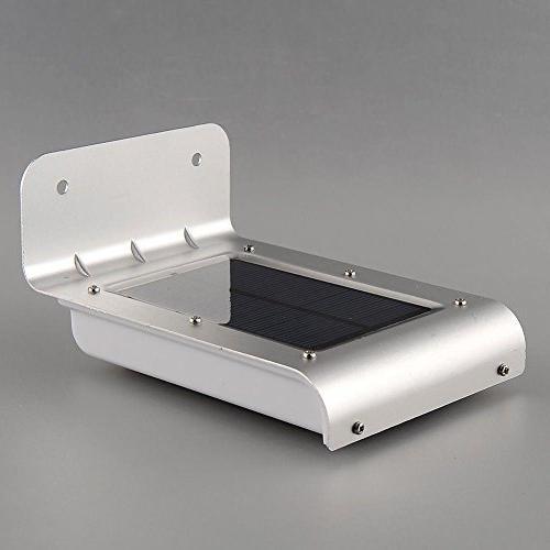 16 Solar Motion Sensor Garden Lamp Outdoor Waterproof Light