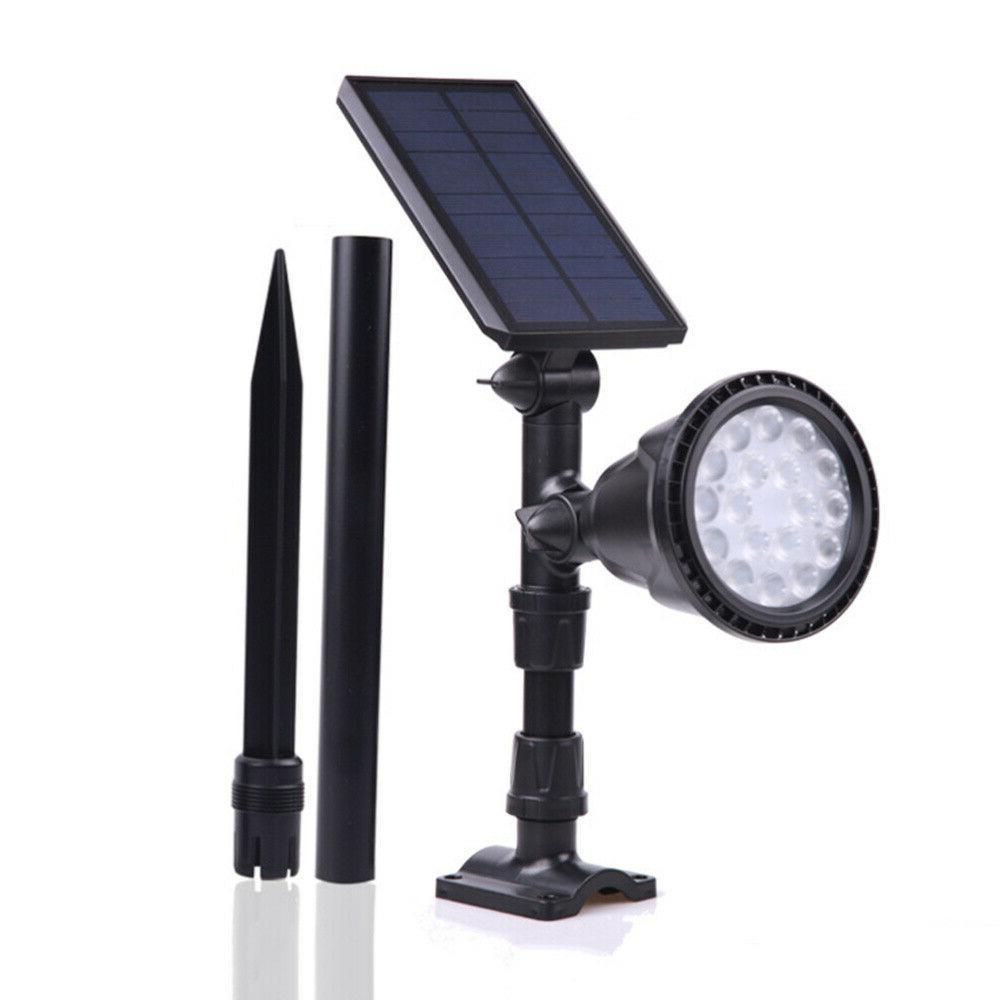18 LED Solar Power Dusk to Yard Lamp Waterproof