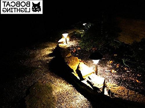 2 Bright Solar Lights Landscape Lights for Pathway, Warm ,