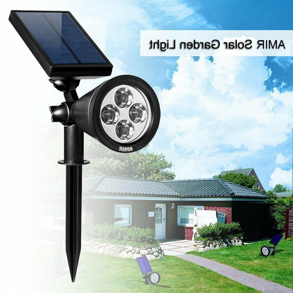 AMIR 2 in 4 LED Solar Garden