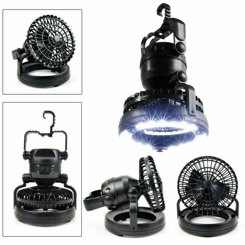 2 1 Camping Fan Lamp