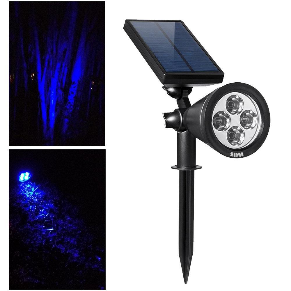 AMIR 1 Solar Spotlights,Adjustable Solar Garden Lights Outdoor,new