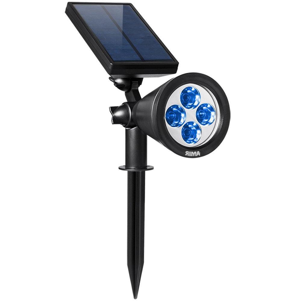 2 in 1 solar spotlights adjustable upgraded