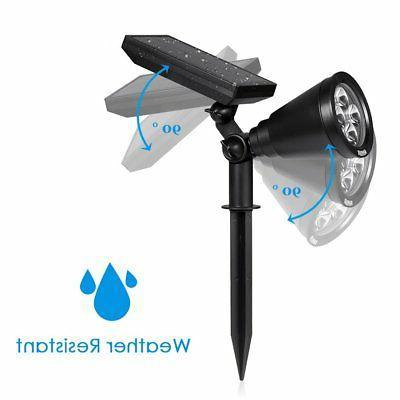 AMIR Solar Spotlights, Solar Garden Light Waterproof 4