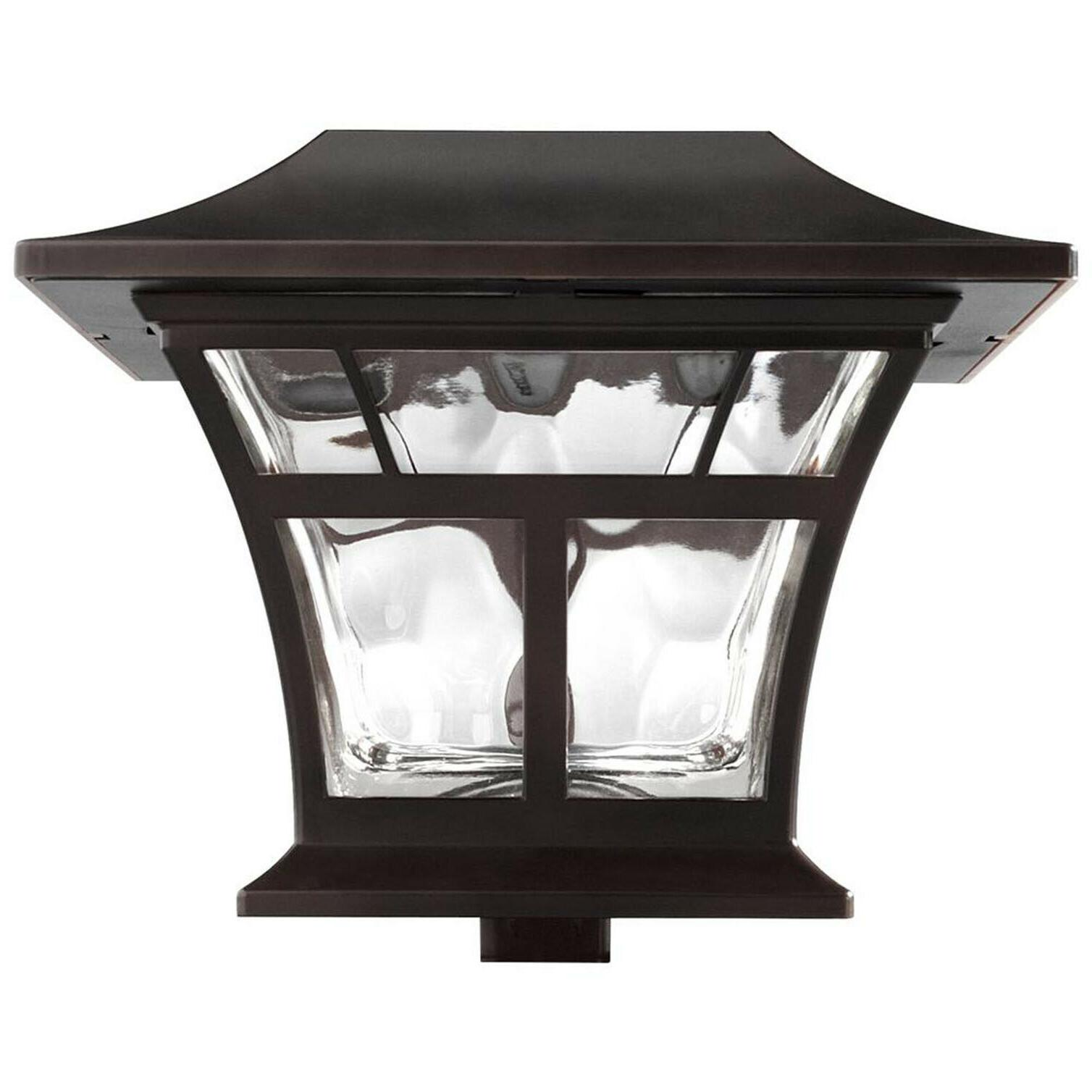 "2-PACK LED DECK POST 4""x4"" Outdoor Garden"
