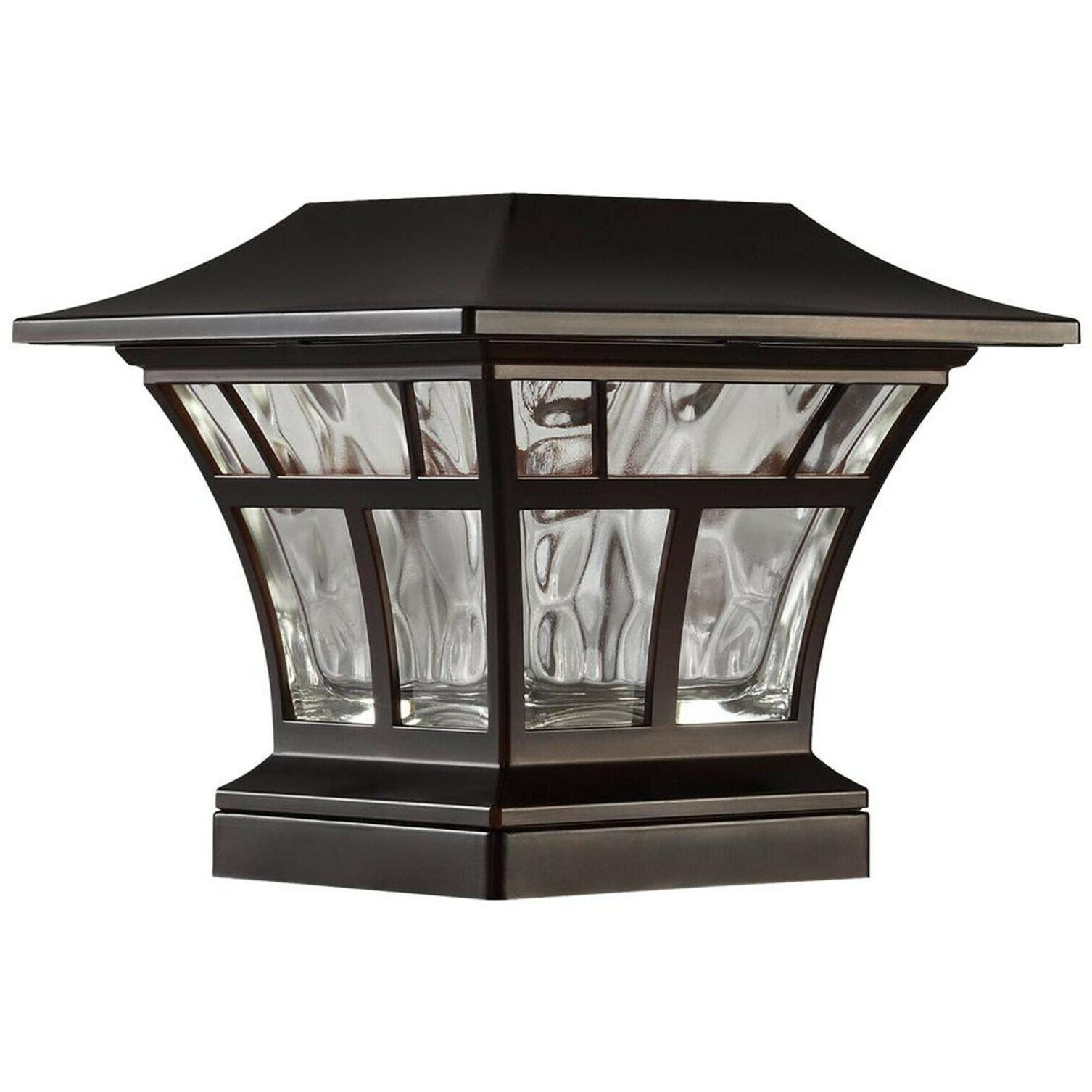 "2-PACK BRONZE DECK 4""x4"" Outdoor Garden Lighting"