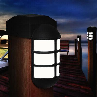 GreenLighting Solar Metal Side Dock Light
