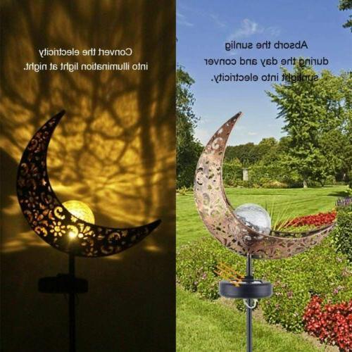 2 PK Outdoor Solar Power Garden Yard Lamp Waterproof