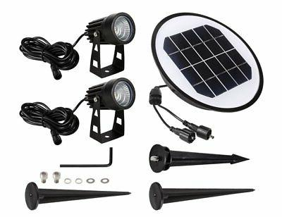 2 Pack Solar ProGreen Outdoor Solar