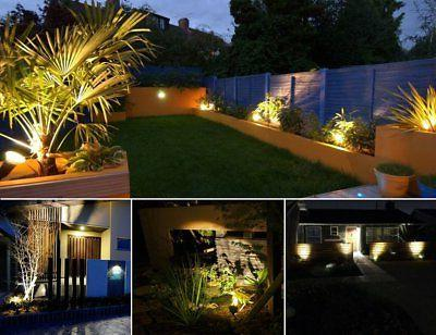 2 Solar ProGreen Waterproof LED Outdoor Lights