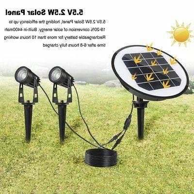 2 ProGreen Outdoor Solar Lights