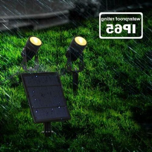 2 Pcs Powered LED Security Lights