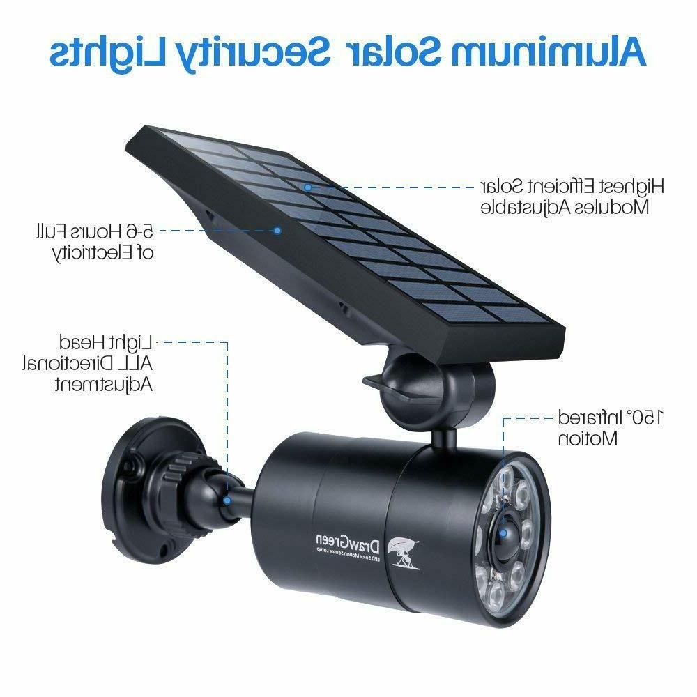 2 Outdoor Motion Bright LED Spotlights