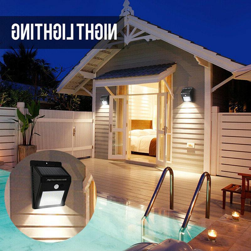 20/34/55LED Lights Outdoor Motion Wall Light Waterproof Garden