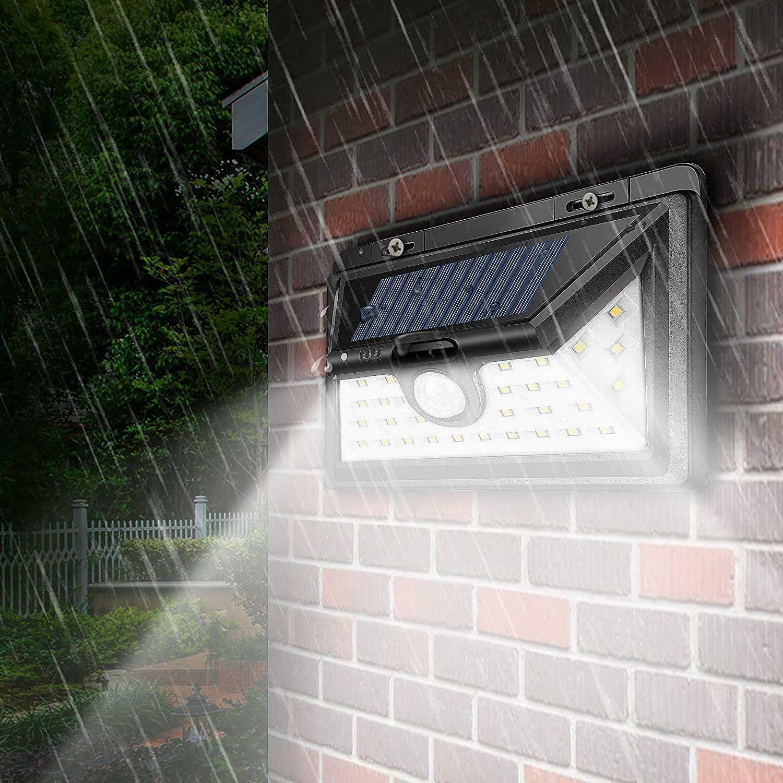 20/34/55LED Solar Motion Sensor Waterproof Garden