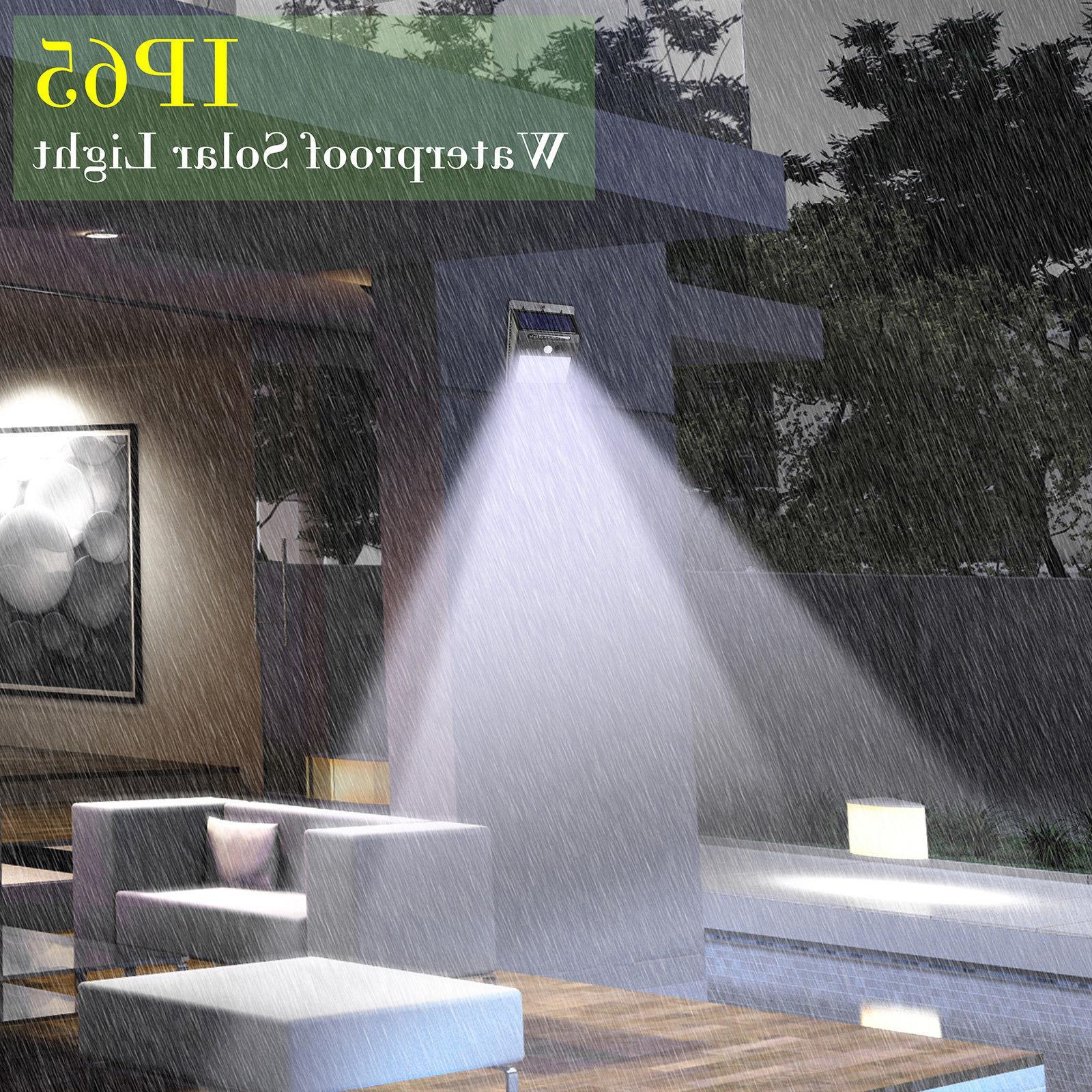 20 LED Solar Motion Outdoor Garden Waterproof