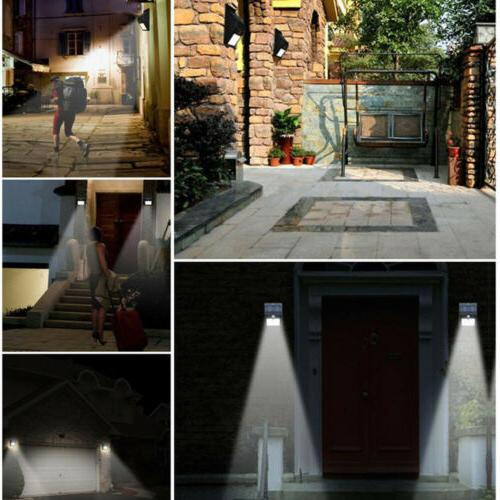 20 LED PIR Motion Sensor Wall Light Waterproof Garden Lamp 1