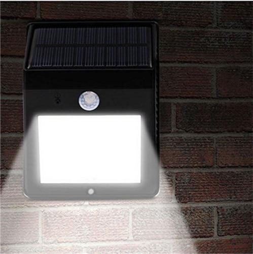 20 LED Power PIR Light Garden Lamp 1