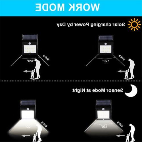 20 Solar PIR Light Outdoor Garden Lamp 1