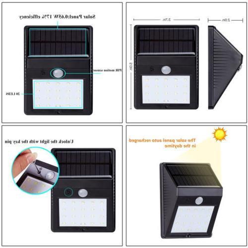 20 PIR Sensor Lamp