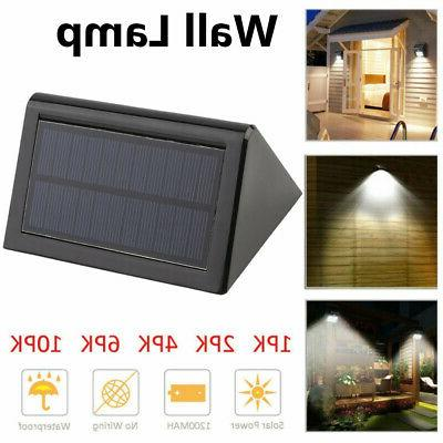20 LED Solar Power Road Motion Sensor Wall Light Outdoor Gar