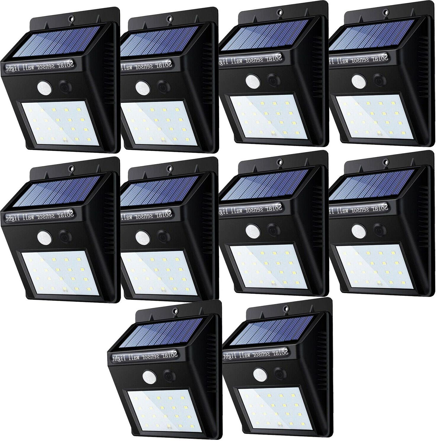 20 led solar power road motion sensor