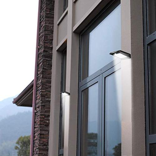 URPOWER LED Lights Solar Motion Outdoor Light Solar Wall DIM Mode