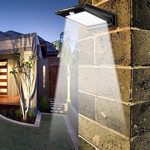URPOWER 20 Lights Motion Outdoor Wireless Waterproof Exterior Wall Light DIM