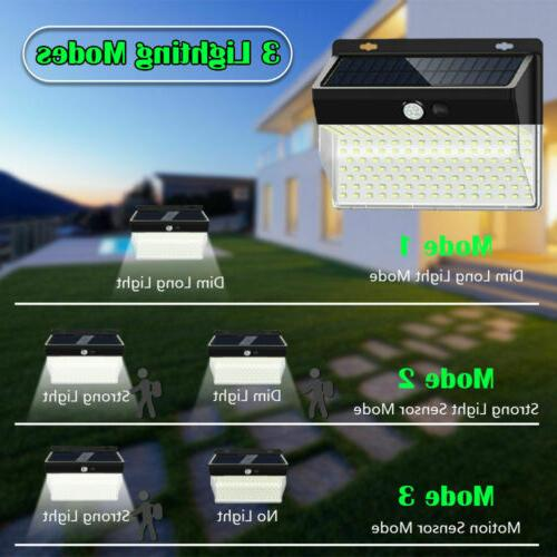 206 Power Wall Motion Sensor Security Flood Garden Light