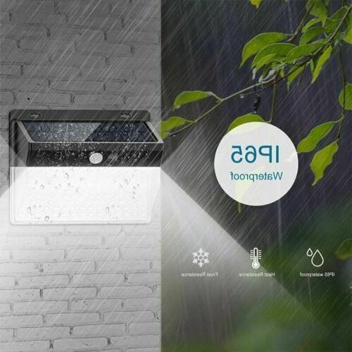 206 LED Solar Power Sensor Light