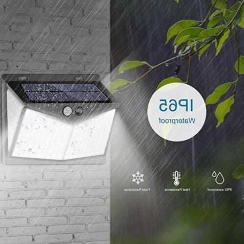 208 Solar Light PIR Outdoor Garden