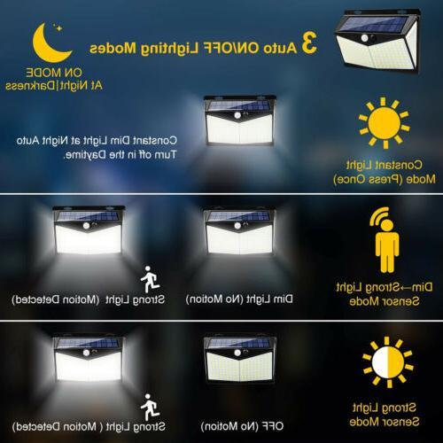 208 LED Light PIR Outdoor Lamp Garden