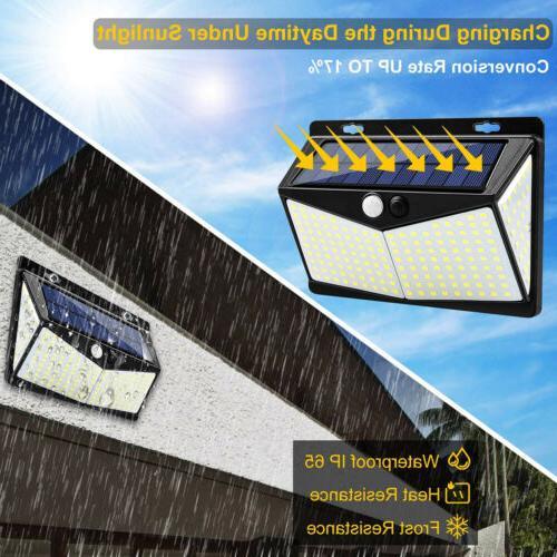 208 LED Solar Light PIR Motion Sensor Outdoor Garden