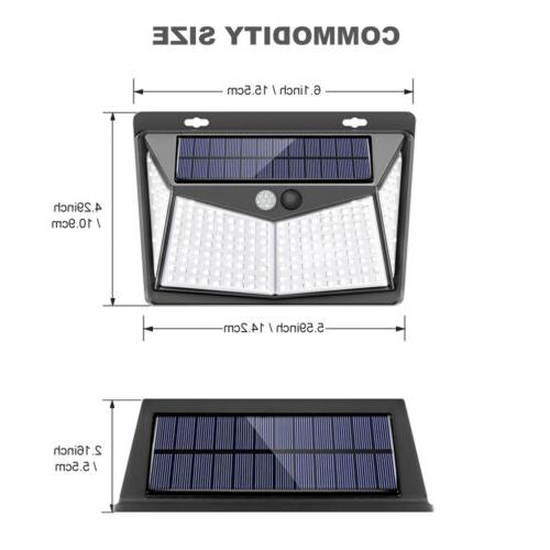 208 Solar Power Light PIR Security Lamp