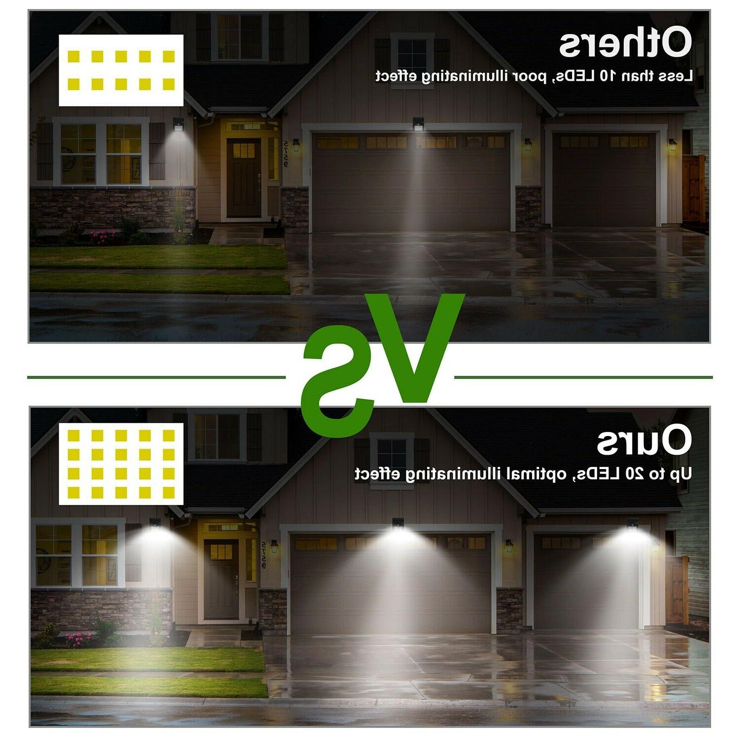20LED Power Security Wall Lamp