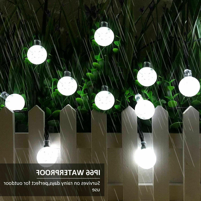 23ft LED String Ball Garden Lamp Waterproof