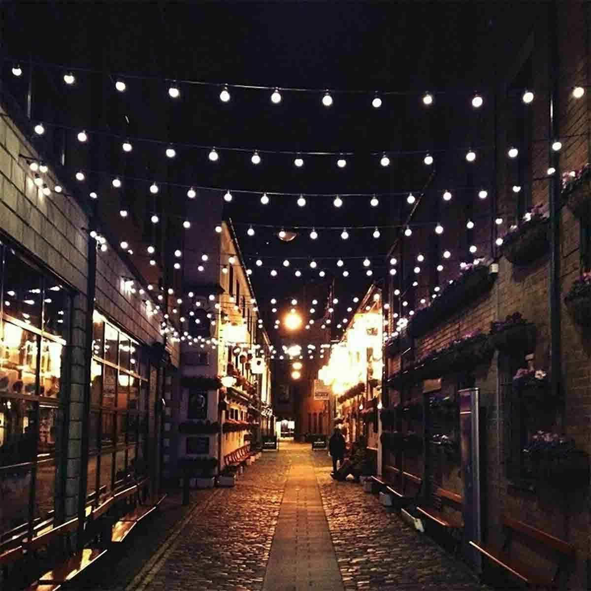 23FT String Fairy Lights Waterproof Outdoor Party