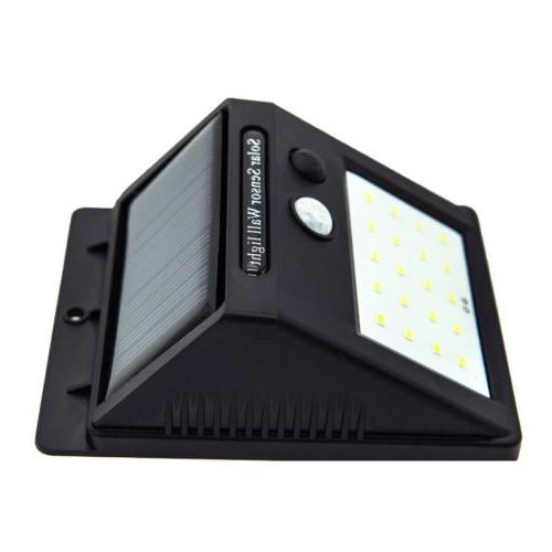 LITOM 24 LED Powered PIR Sensor Outdoor Lamp