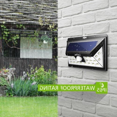 LITOM Solar Powered Sensor Outdoor Light Outdoor Lamp