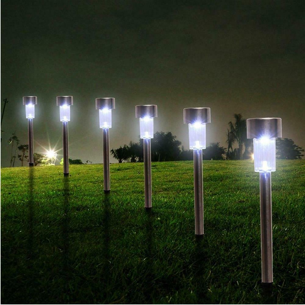 24 Power LED Outdoor Lights White