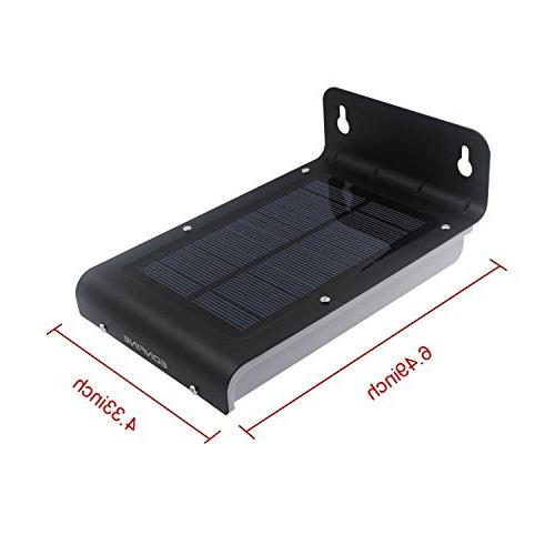 Eonfine LED Solar Power Outdoor Sensor Waterproof Security Lamp Light