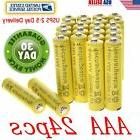 24pcs AAA Rechargeable Batteries Ni-Mh 1800mAh 1.2v Garden S