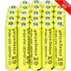 24xAAA Rechargeable Batteries Ni-Mh 1800mAh 1.2v Garden Sola