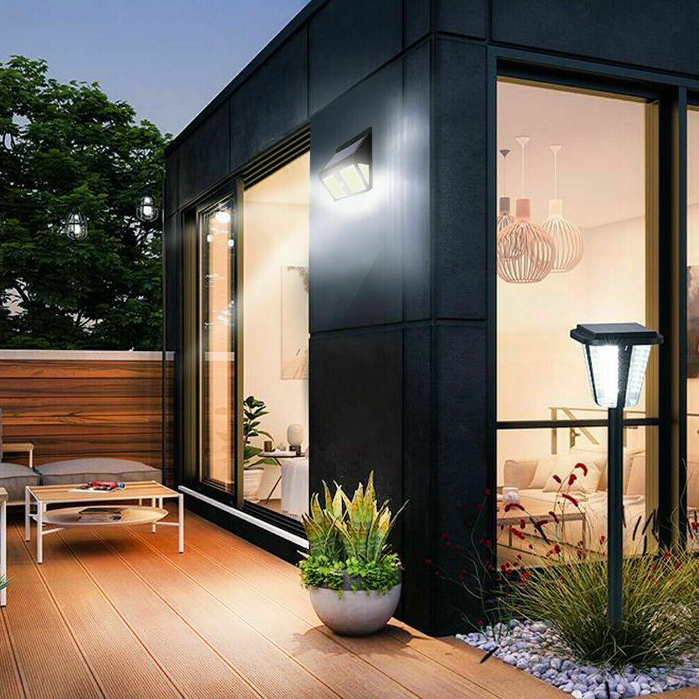 250 LED Solar Lights Outdoor PIR Sensor Waterproof