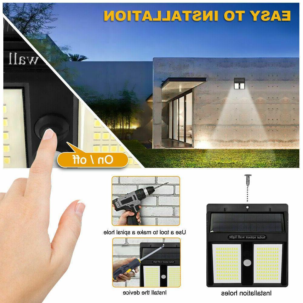 250 Lights Motion Sensor Garden Waterproof