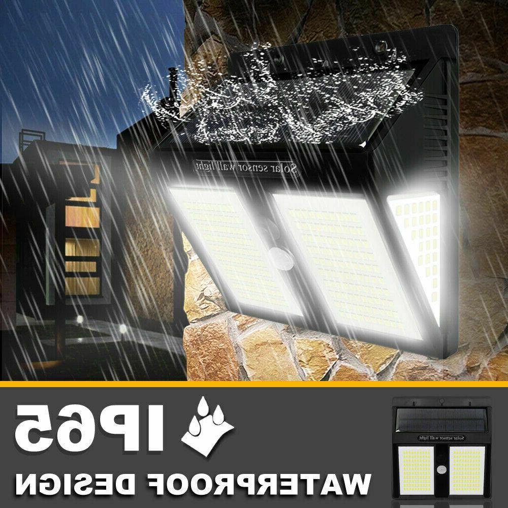 250 Lights Outdoor Sensor Garden Waterproof